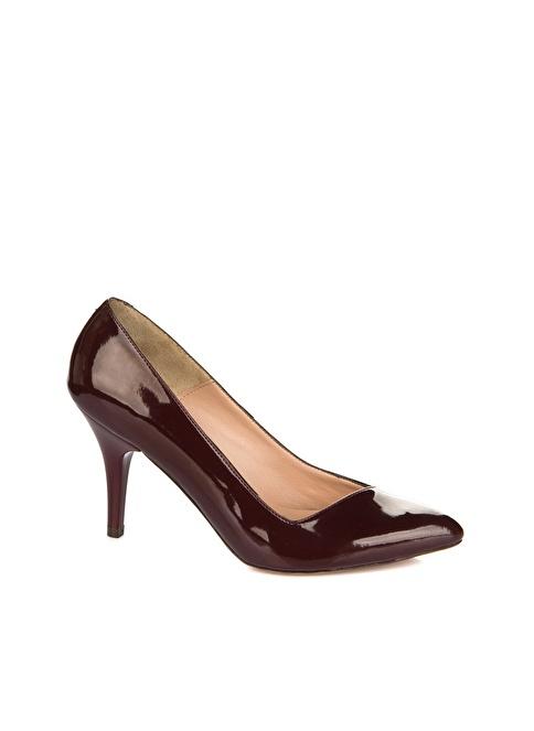Elle Topuklu Ayakkabı Bordo